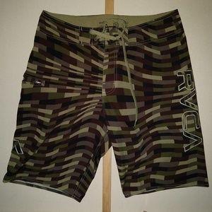 RVCA Size 32 Board Shorts